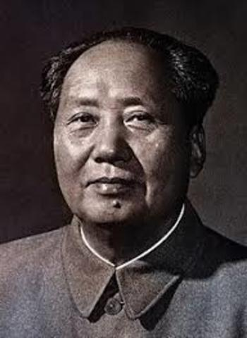 Mao Zedong Takes power in China