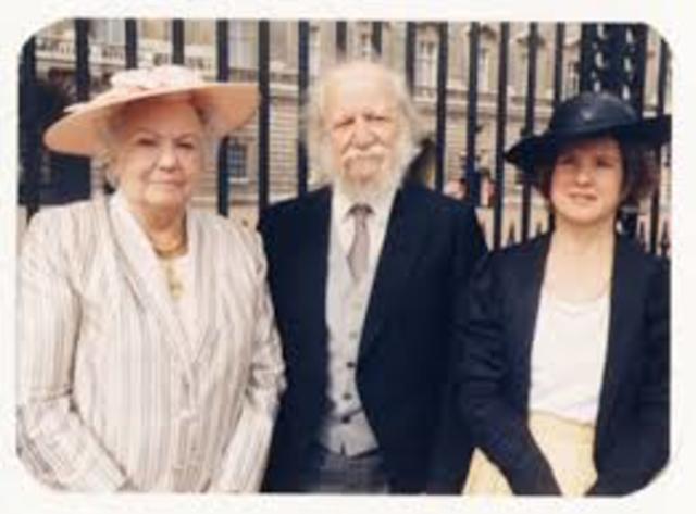 honored by queen Elizabeth II