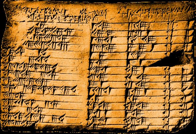 Matemáticas Babilónicas