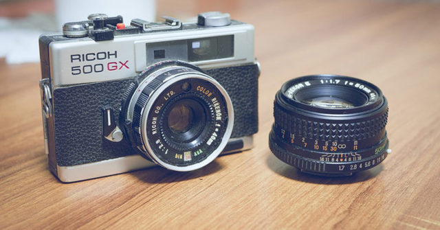 Las cámaras fotográficas