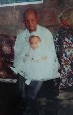 Mi primera foto con mi abuelo