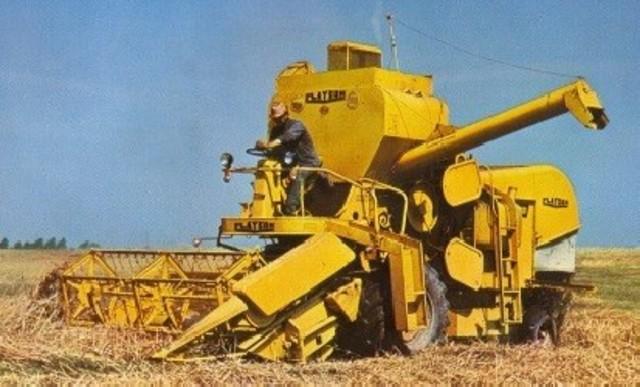 Combine Harvester around Europe