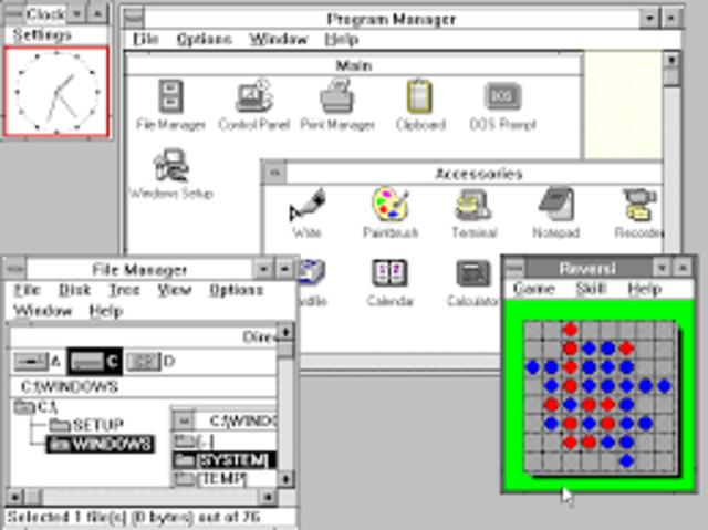Windows version 3