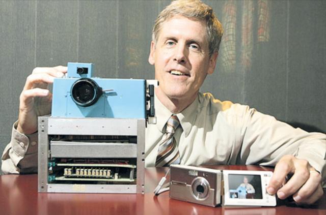 Steven Sasson, ingeniero de Kodak