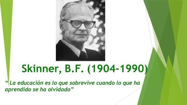 Nacimiento de B.F Skinner