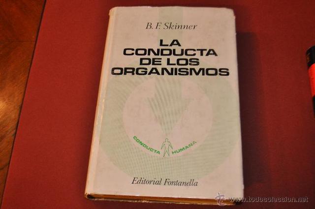 """Libro """"Conducta de los organismos"""""""