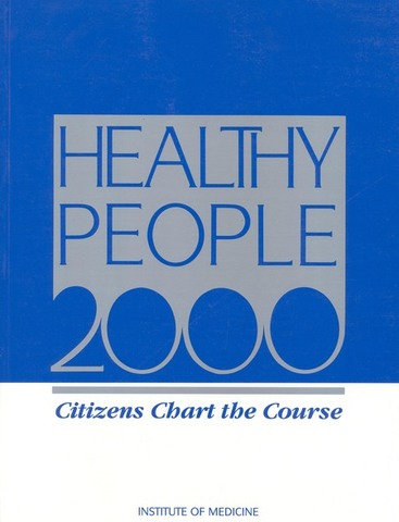 El U.S Department of Health and Human Servicies (U.S.DHHS) publican Healthy People 2000.