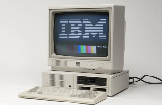 IBM Primera Interfaz Grafica