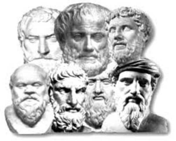 Siglo V - Filósofos grecolatinos.