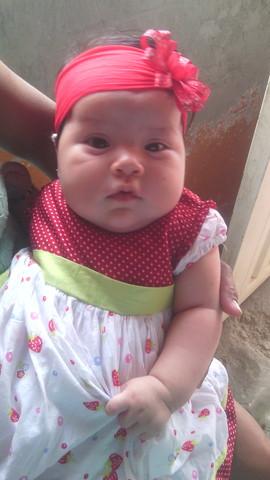Nacimiento de mi hija Ayleen Yoleth Acevedo Valencia