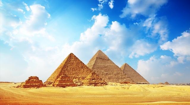Construcción de las Pirámides de Egipto
