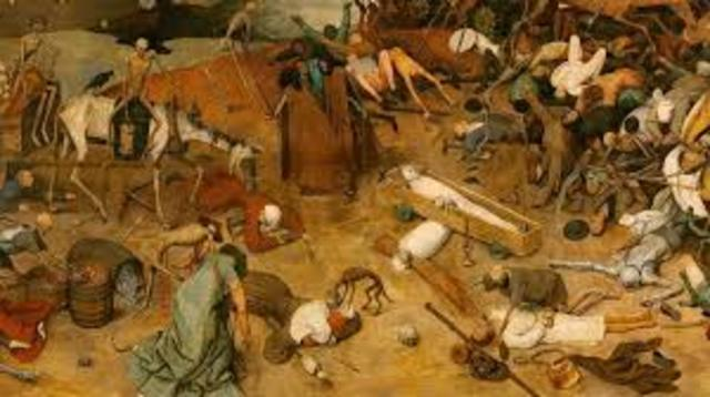 Siglo XIV. Peste Bubonica o Peste Negra