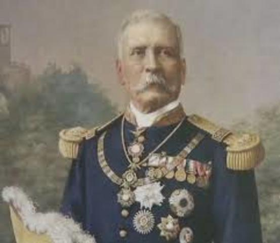 Gobierno dictatorial de Porfirio Diaz