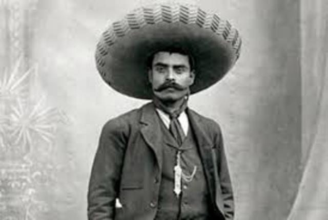 Zapata: Proclamación del plan de ayala