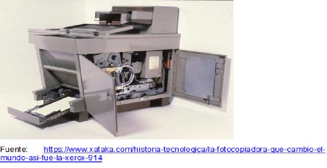 Fotocopiadora automática.