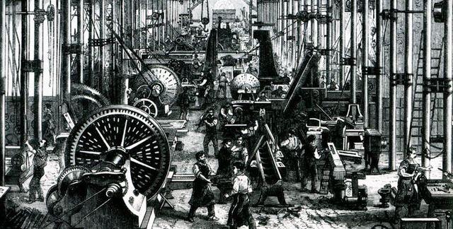 Revolución industrial   1750 – Siglo XVIII