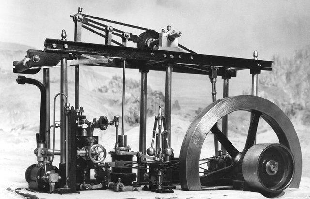 1736 -1819 James Watt inventa la máquina a vapor
