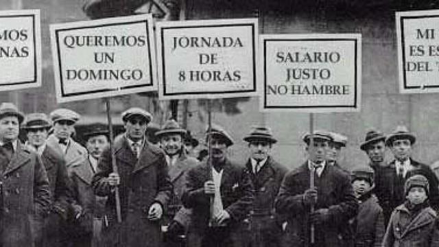 1886; Chicago establecimiento de las 8 horas de trabajo