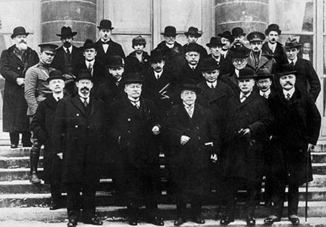 1918 Organización Internacional del Trabajo
