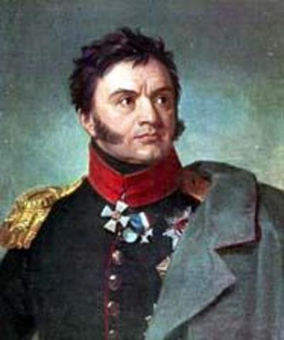 Пушкин путешествует с семьёй генерала Н. Н. Раевского.