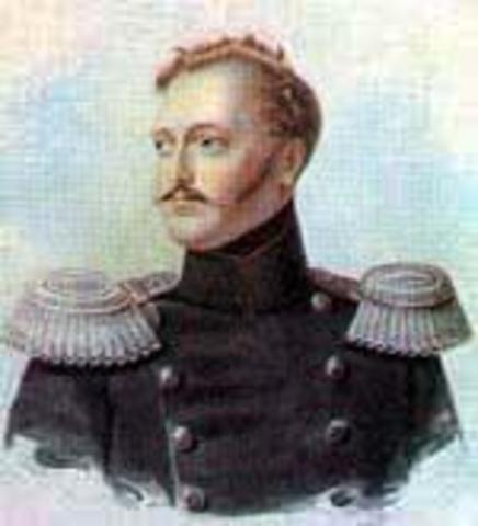 Пушкин принят Николаем I.