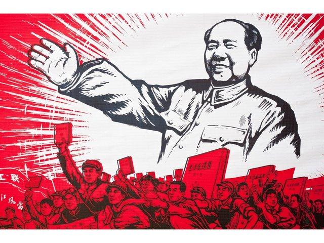 Kina ble kommunistisk