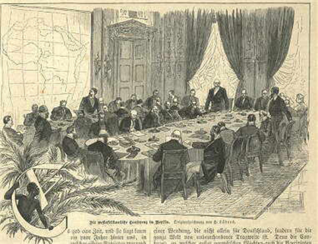 start of the Berlin conference