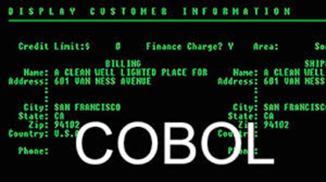COBOL LENGUAJE DE PROGRAMACIÖN