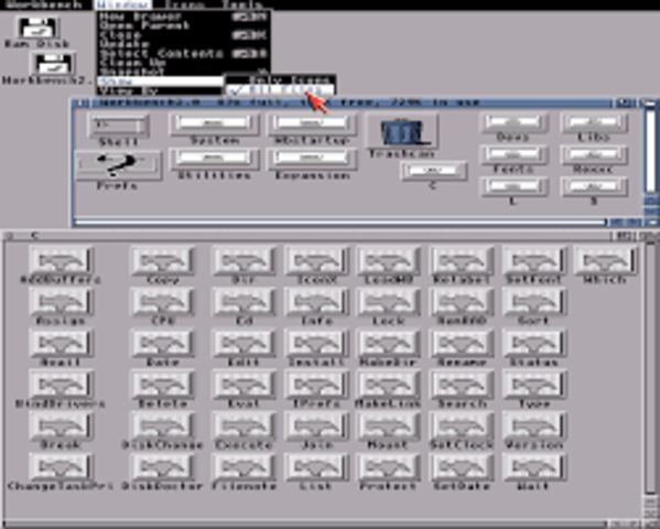 Amiga Workbench 2