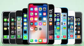 Evolution of the iPhone timeline
