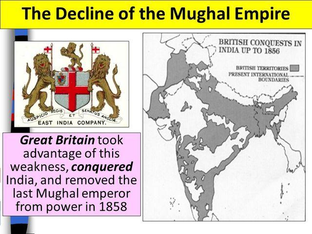 Mughal Empire Declines