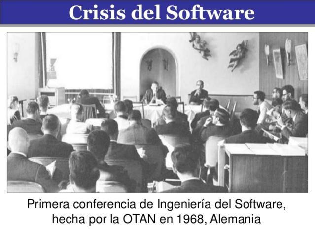 origen del concepto de ingeniería de software