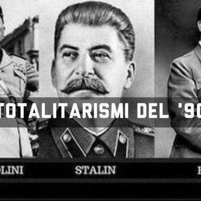 I TOTALITARISMI timeline