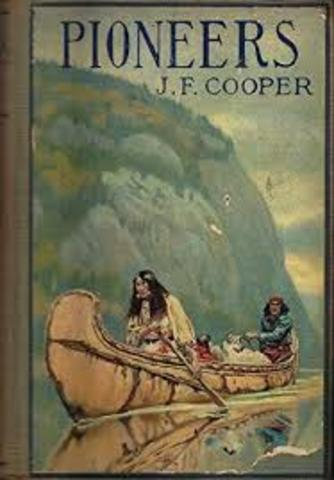 James Fenimore Cooper publishes The Pioneers