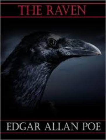 Edgar Allan Poe publishes The Raven and Other Poems