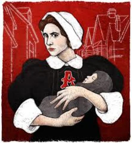 Nathaniel Hawthorne publishes The Scarlet Letter