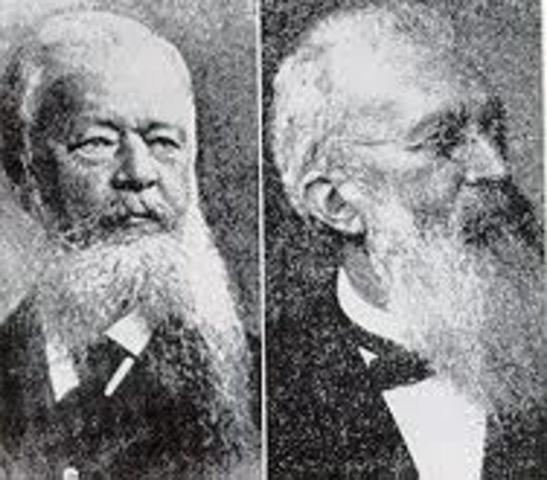 Gustav Fritsch y Eduard Hitzig ( 1838-1927)