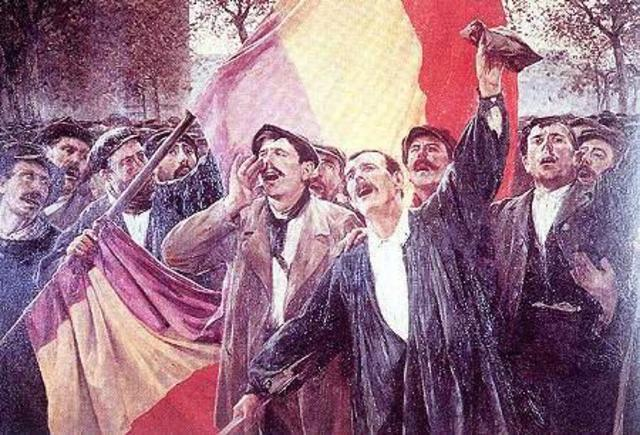 La Segunda República Española.