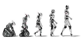 Эволюция робототехники timeline