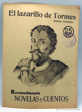 novela picaresca 1554
