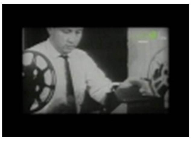 Primera emisión colectiva de la televisión educativa.