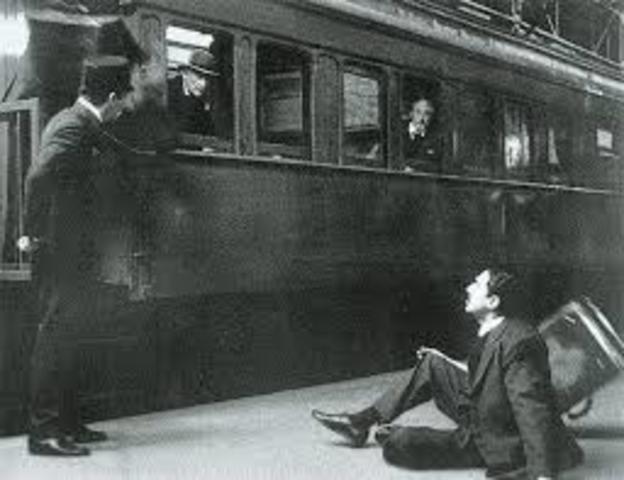 Mahatma Gandhi Train Incident