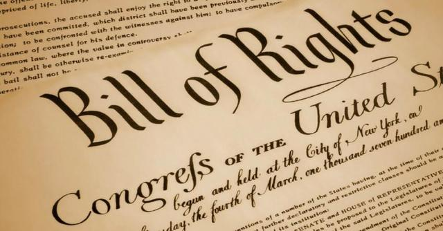 Bill of Rights Becomes Law
