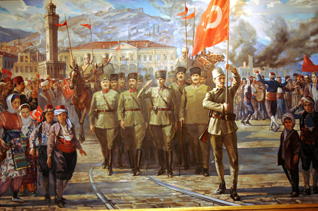 Independence of Izmir