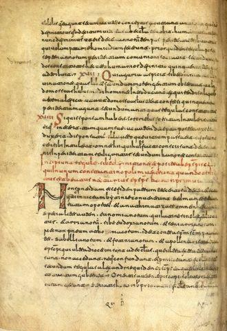 Analógico: manuscrito del siglo VII