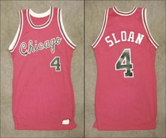 Second Bulls jersey