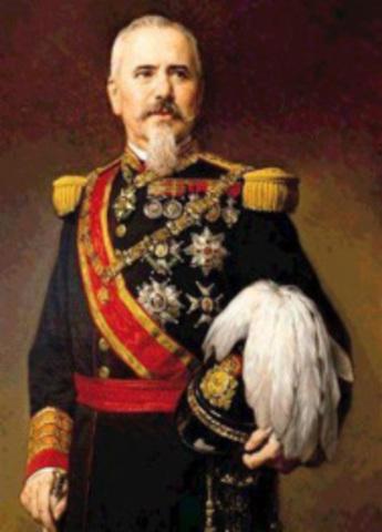 Pronunciamiento del General Martínez Campos. Proclamación de Alfonso XII como rey de España. Restauración de los Borbones.