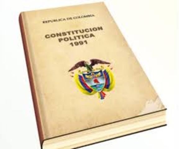 Constitución de 1991 que consagra derechos sociales y mecanismos de participación y un nuevo proyecto de ley de reforma agraria