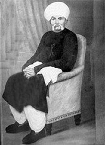 Death of Mahatma Gandhi's father