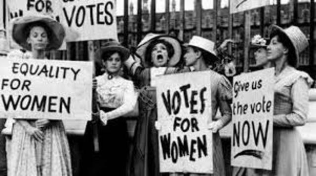New Zealand first country to grant women suffrage